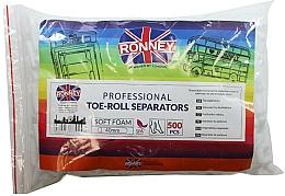 Parfums et Produits cosmétiques Séparateurs d'orteils, 500 pcs - Ronney Professional Toe-Roll Sparators