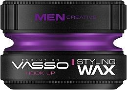 Parfums et Produits cosmétiques Cire coiffante - Vasso Professional Hair Styling Wax Hook Up