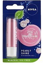 Parfums et Produits cosmétiques Baume à lèvres - Nivea Lip Care Pearl & Shine Limited Edition