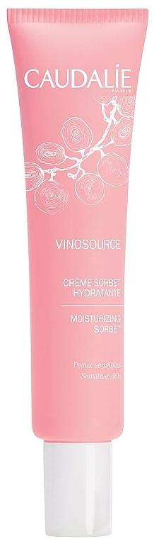 Crème sorbet à l'eau de raisin bio pour visage - Caudalie Vinosource Moisturizing Sorbet — Photo N1