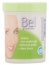 Parfums et Produits cosmétiques Disques humides démaquillants à l'aloe vera - Bel Premium Lotion Eye Make-Up Pads Aloe Vera