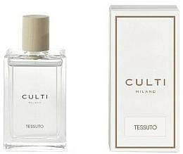 Parfums et Produits cosmétiques Spray d'ambiance, Cassis, Fleurs de coton et Bergamote - Culti Milano Room Spray Tessuto