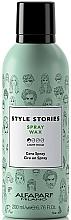 Parfums et Produits cosmétiques Cire en spray pour cheveux - Alfaparf Milano Style Stories Spray Wax