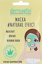 Parfums et Produits cosmétiques Masque rafraîchissant à l'argile bleue cambrienne et huile de chanvre - Dermaglin Natural Effect