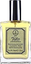 Parfums et Produits cosmétiques Taylor Of Old Bond Street Sandalwood Alcohol Free Aftershave Lotion - Lotion après-rasage
