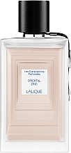 Parfums et Produits cosmétiques Lalique Oriental Zinc - Eau de Parfum