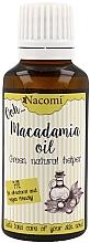 Parfums et Produits cosmétiques Huile de macadamia - Nacomi