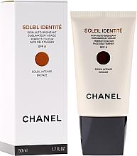 Parfums et Produits cosmétiques Soin auto-bronzant SPF 8 pour visage - Chanel Soleil Identite SPF 8 Intense Bronze