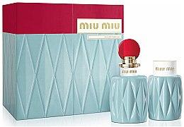 Parfums et Produits cosmétiques Miu Miu - Coffret (eau de parfum/100ml + lotion corps/100ml)