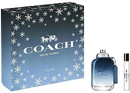 Parfums et Produits cosmétiques Coach Blue - Coffret (eau de toilette/60ml + eau de toilette/7.5ml)