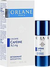 Parfums et Produits cosmétiques Sérum concentré détoxifiant visage avec caféine - Orlane Supradose Concentrate Caffeine Detoxifying