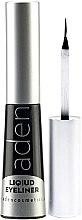 Parfums et Produits cosmétiques Eyeliner liquide waterproof - Aden Cosmetics Liquid Eyeliner