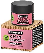 Parfums et Produits cosmétiques Masque de nuit à la cire d'abeille pour lèvres - Beauty Jar Kiss Me Goodnight Overnight Lip Mask