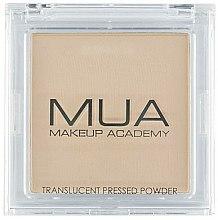 Parfums et Produits cosmétiques Poudre pressée semi-transparent pour visage - MUA Translucent Pressed Powder