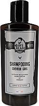 Parfums et Produits cosmétiques Shampooing à la kératine pour cheveux gris - Man'S Beard Shampooing Cheveux Gris Sans Sulfates
