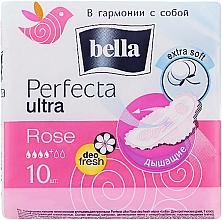 Parfums et Produits cosmétiques Serviettes hygiéniques, 10pcs - Bella Perfecta Ultra Rose