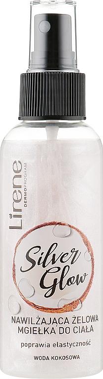 Brume-gel hydratante pour corps - Lirene Dermo Program Silver Glow
