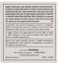Crème au collagène et mauve - Sisley Creme Collagene Et Mauve Botanical Night Cream — Photo N4