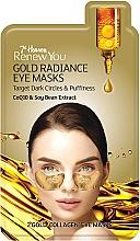 Parfums et Produits cosmétiques Masque à l'extrait de soja contour des yeux - 7th Heaven Renew You Gold Radiance Eye Masks