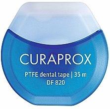 Parfums et Produits cosmétiques Fil dentaire avec revêtement en téflon et chlorhexidine DF 820, 35m - Curaprox