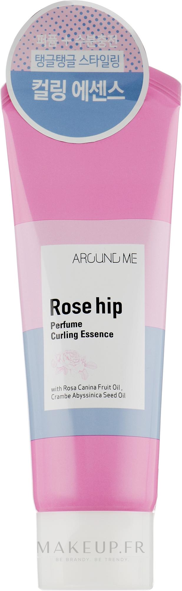 Essence à l'huile de rose musquée pour boucles - Welcos Around Me Rose Hip Perfume Curling Essence — Photo 130 g