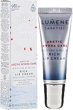 Parfums et Produits cosmétiques Crème au beurre de karité pour lèvres - Lumene Arctic Hydra Care [Arktis] Rich Lip Cream