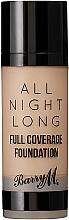 Parfums et Produits cosmétiques Fond de teint - Barry M All Night Long Liquid Foundation