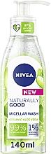 Parfums et Produits cosmétiques Gel micellaire à l'aloe vera pour visage - Nivea Naturally Good Micellar Wash