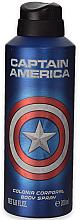 Parfums et Produits cosmétiques Déodorant spray pour corps - Marvel Captain America Deodorant