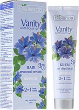 Parfums et Produits cosmétiques Crème dépilatoire 2 en 1 Hibiscus, corps et maillot - Bielenda Vanity Soft Touch Hibiscus
