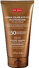 Parfums et Produits cosmétiques Crème solaire pour visage, cou et décolleté - Pupa Anti-Aging Sunscreen Cream SPF 50