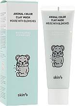 Parfums et Produits cosmétiques Masque exfoliant à l'argile pour le visage - Skin79 Animal Color Clay Mask Mouse With Blemishes