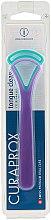 Parfums et Produits cosmétiques Lot de 2 gratte-langue CTC 203, bleu + violet - Curaprox Tongue Cleaner