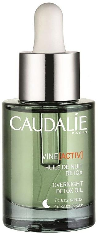 Huile de nuit détoxifiante à l'huile de pépins de raisin pour visage - Caudalie VineActiv Overnight Detox Oil