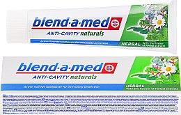 Parfums et Produits cosmétiques Dentifrice aux herbes - Blend-a-med Anti-Cavity Herbal Natural