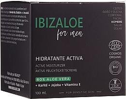 Parfums et Produits cosmétiques Crème à l'aloe vera pour visage - Ibizaloe Active Moisturizer