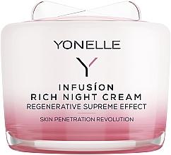 Parfums et Produits cosmétiques Crème de nuit au rétinol et acide hyaluronique - Yonelle Infusion Rich Night Cream