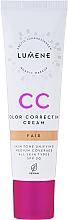 Parfums et Produits cosmétiques CC crème SPF 20 - Lumene CC Color Correcting Cream