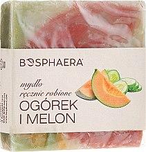 """Parfums et Produits cosmétiques Savon naturel """"Concombre et melon"""" - Bosphaera"""