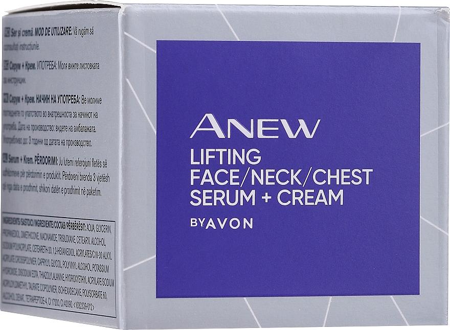 Sérum liftant et raffermissant pour visage, cou et décolleté - Avon Anew Clinical Lift & Firm Pressed Serum