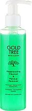 Parfums et Produits cosmétiques Démaquillant pour yeux et lèvres - Gold Tree Barcelona Regenerating Cleanser & Makeup Remover