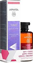 Parfums et Produits cosmétiques Apivita Tonic - Set (lotion pour cheveux/150ml + shampooing/250ml)