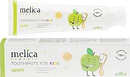 Parfums et Produits cosmétiques Dentifrice Pomme - Melica Organic Toothpaste For Kids Apple