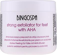 Parfums et Produits cosmétiques Gommage aux acides AHA et extrait de camomille pour pieds - BingoSpa Strong Exfoliant for Feet with AHA