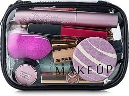 Parfums et Produits cosmétiques Trousse de toilette transparente Visible Bag, 15x10x5cm (sans contenu) - MakeUp