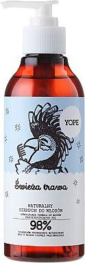 Shampooing à l'extrait de rose et aloe vera - Yope