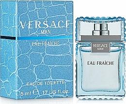 Parfums et Produits cosmétiques Versace Man Eau Fraiche - Eau de Toilette (mini)