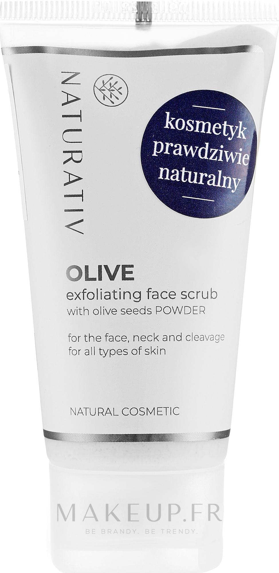 Gommage aux graines d'olive pour visage - Naturativ Olive Exfolianting Face Scrub — Photo 50 ml