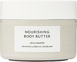 Parfums et Produits cosmétiques Beurre à l'huile d'amande pour corps, Menthe citronnée - Estelle & Thild Citrus Menthe Nourishing Body Butter