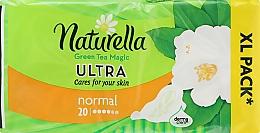 Parfums et Produits cosmétiques Serviettes hygiéniques, 20 pcs - Naturella Green Tea Magic